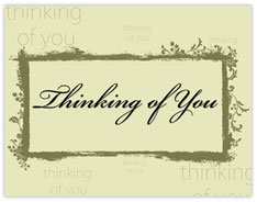Thinking of You Value Cards